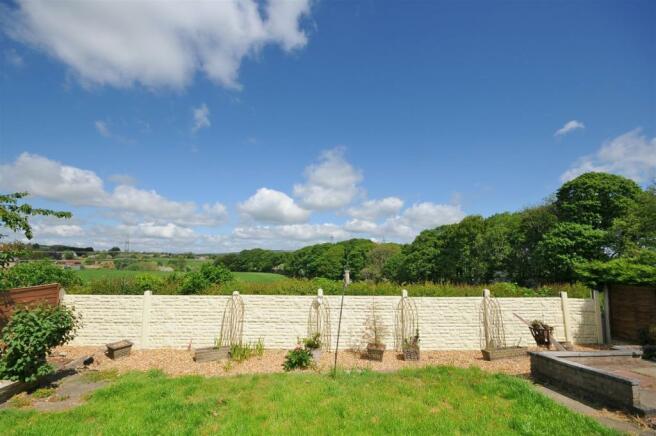 Rear garden and views