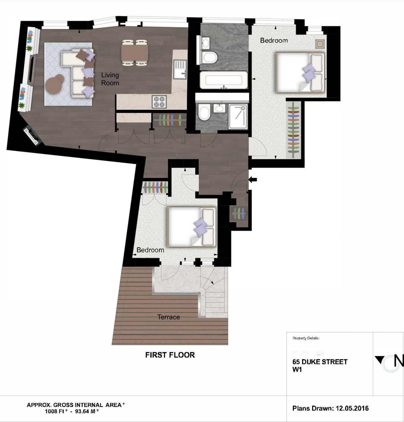 2 Bedroom Apartment To Rent In Duke Street W1K