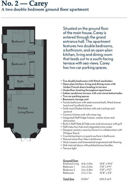 Carey Floorplan