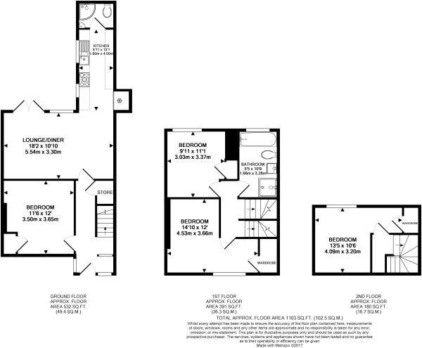 Dovecote Floor Plan