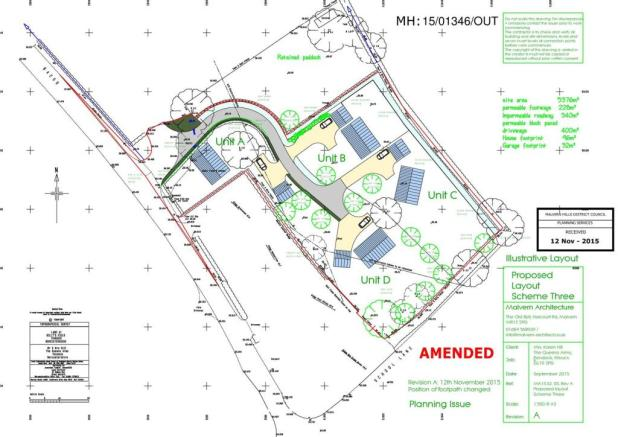 AMENDED Proposed Layout Scheme Three - MA15-32-05-