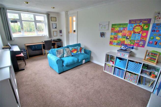 Family Room /Reception Room / Fourth Bedroom