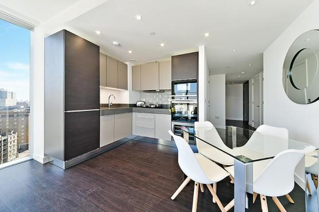 Kitchen and dining a