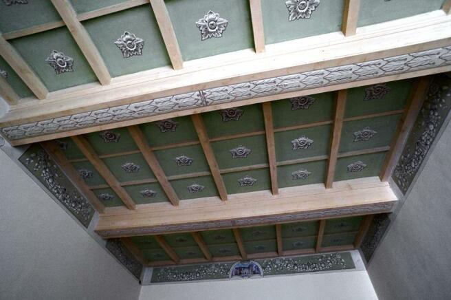 Diningroom ceiling