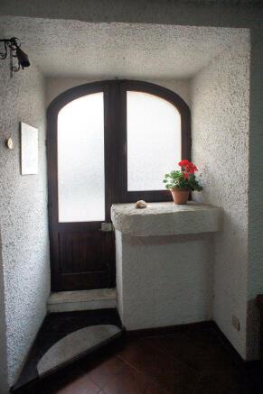 Antique doorway