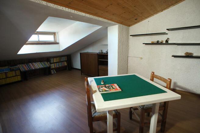 Top floor games area