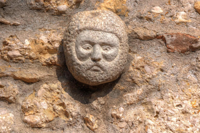 Detail: Stone Head