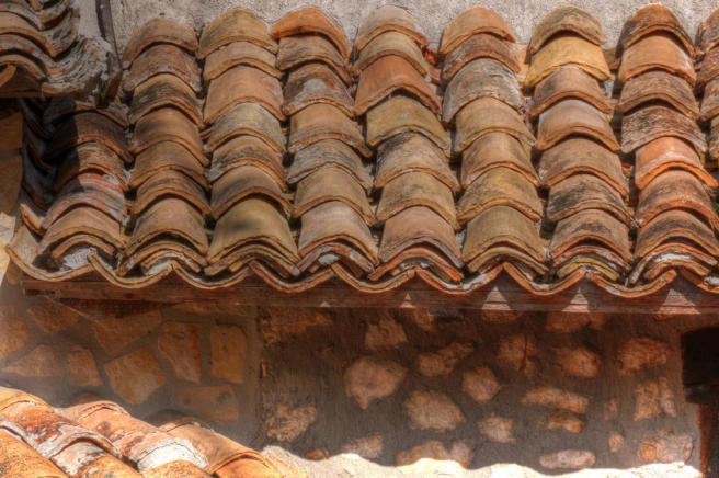 Detail: Roof Tiles