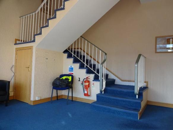 Stairway to offices