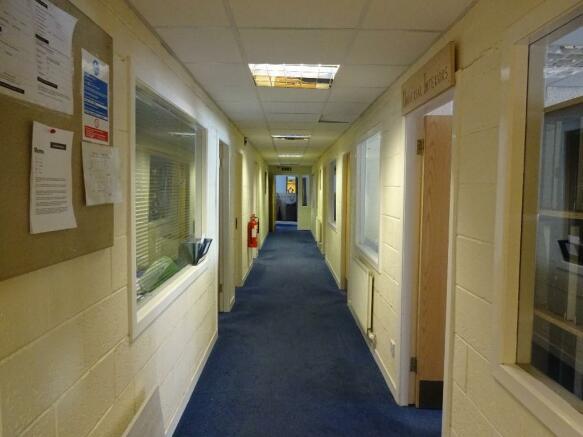 Corridor on ground