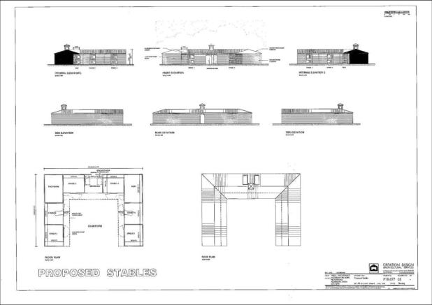 Proposed Stables