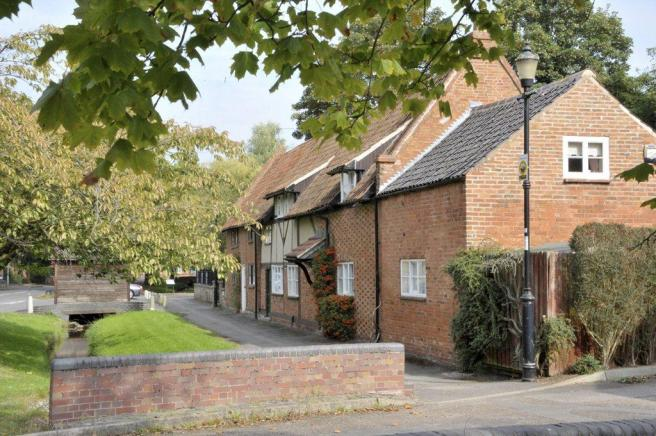 The quiant village setting of East Leake