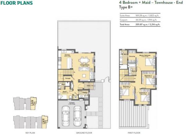 4 bedroom- Type B+