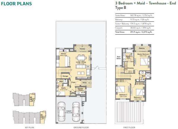 3 bedroom- Type B