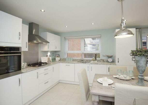 Typical Chesham fitted kitchen