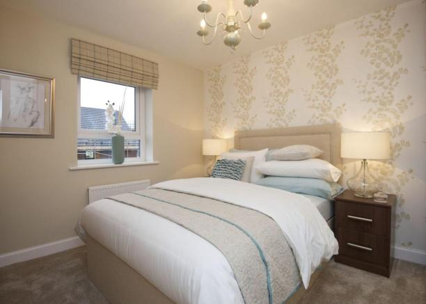 Typical Chesham second bedroom
