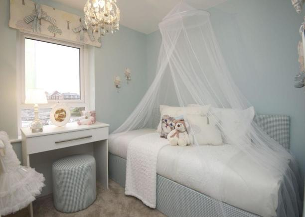 Typical Chesham third bedroom