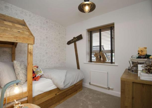 Typical Chesham fourth bedroom