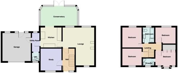 Wits End Floor Plan.