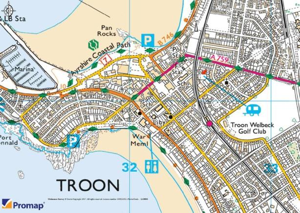 Troon Scotland Map.Commercial Property For Sale In Low St Meddans Street Troon