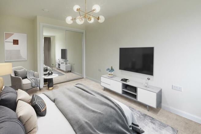 Plot 45 Burnett Bedroom 1