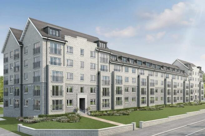 External examples of apartments at Westburn Gardens