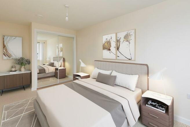 Plot 48 Cawthorne Bedroom 1