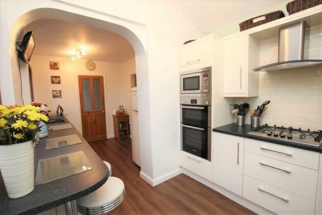 Kitchen from door