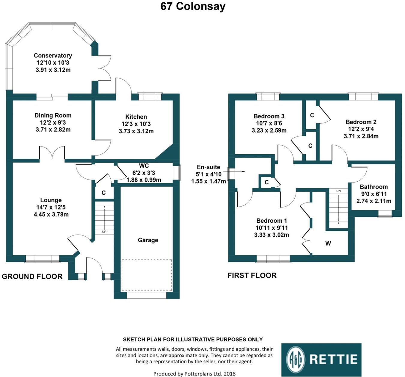 3 bedroom detached house for sale in Colonsay Drive, Newton Mearns ...
