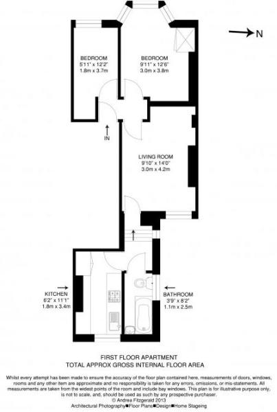 Floorplan - McFarlane (43b), Shepherds Bush, W12 7