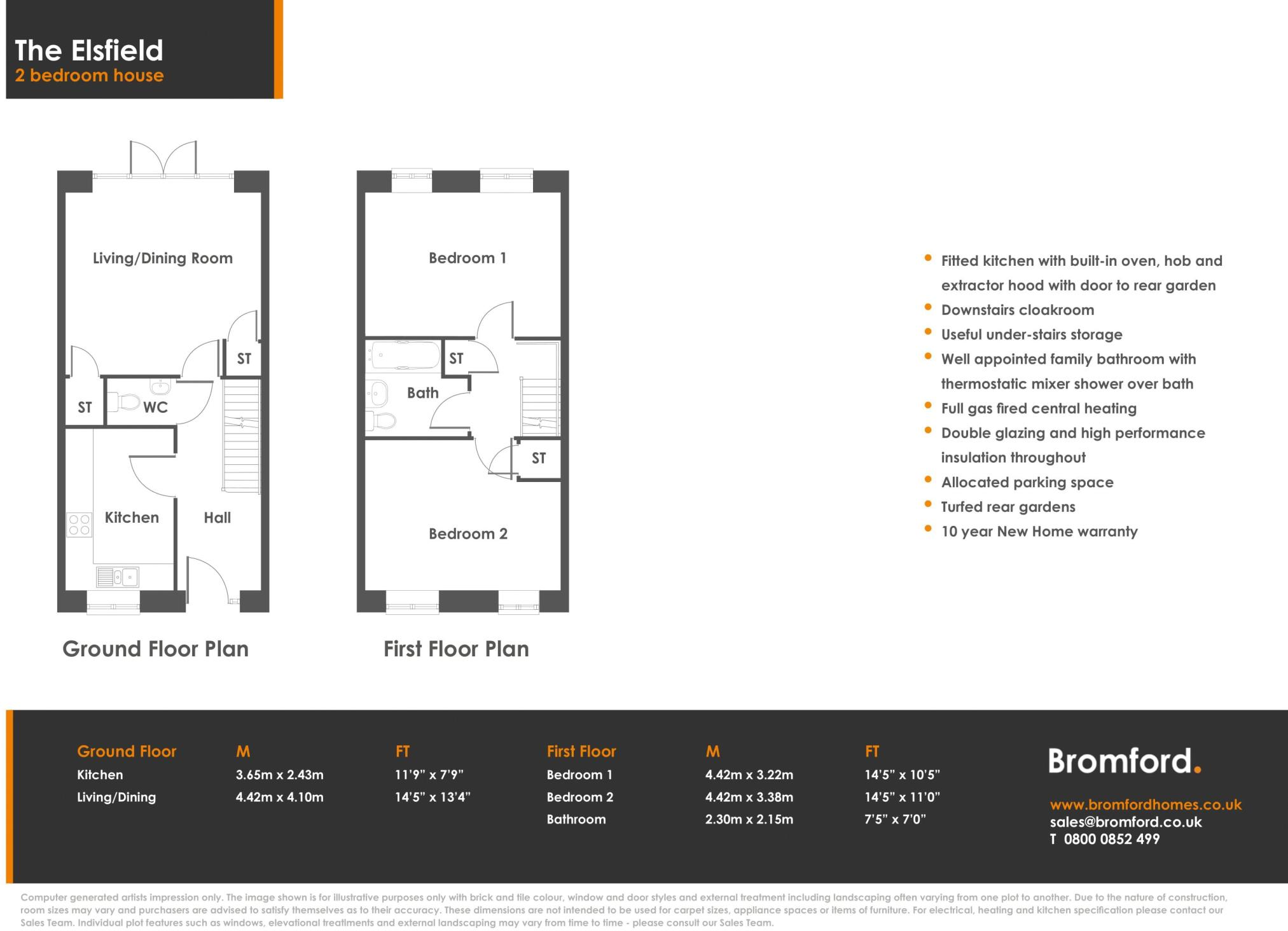 2 Bedroom Terraced House For Sale In Graven Hill Bicester Ox26 Doubleglazingdiagram01jpg