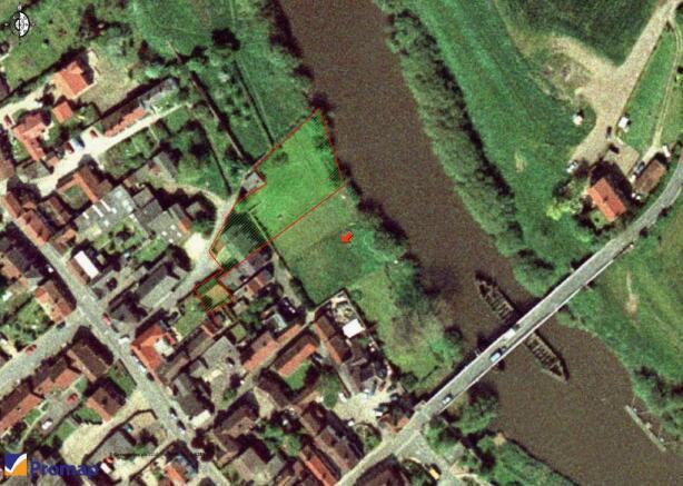 Aerial View of Plot c0.38acre