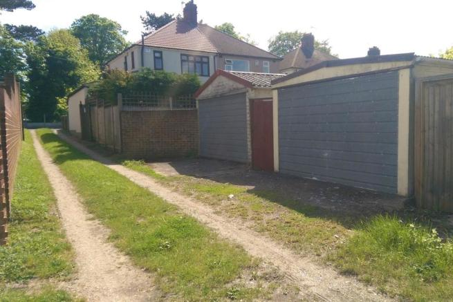 Garage and Rear Access