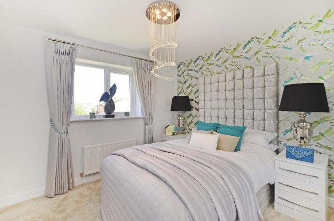 Showhouse bed 1