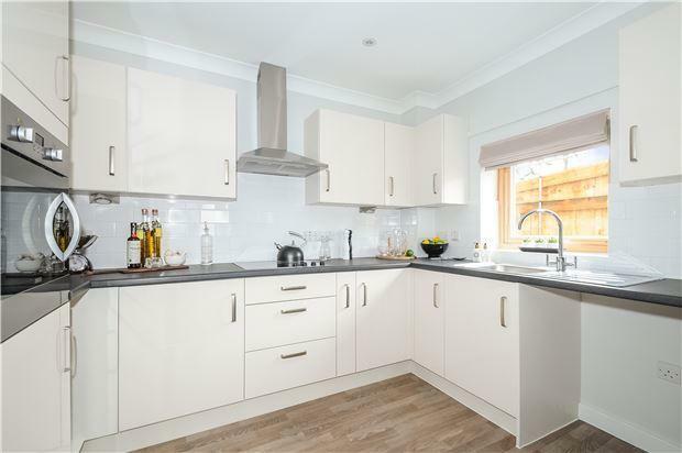 Show Apartment Kitchen
