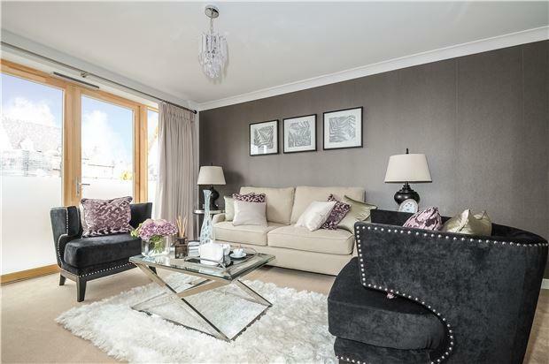 Show Apartment Living Area