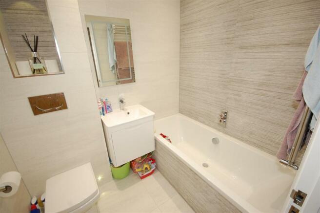 Refitted Bathroom/shower Room
