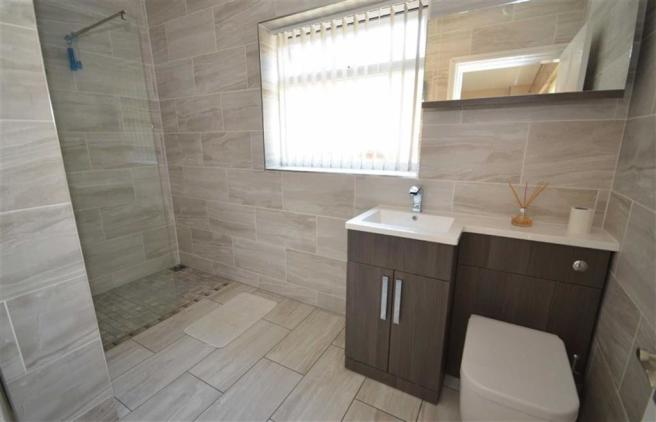 Refitted Wet/Shower Room