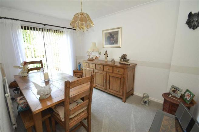 Separate Rear Dining Room