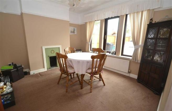 Separate Front Dining Room