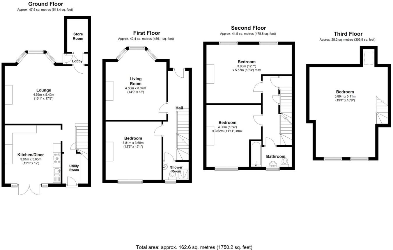 5 Bedroom Terraced House For Sale In Cantwell Road Shooters Hill Displaying 17gt Images Flash Memory Diagram Se18