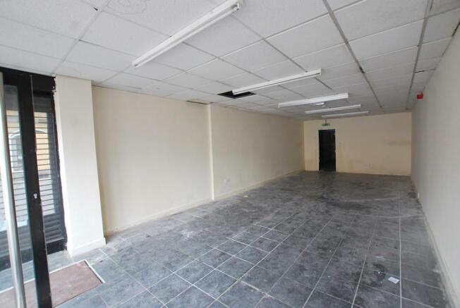 Single Shop Interior