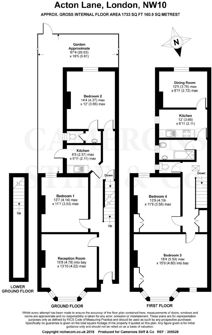 4 Bedroom Terraced House For Sale In Acton Lane Harlesden London NW10