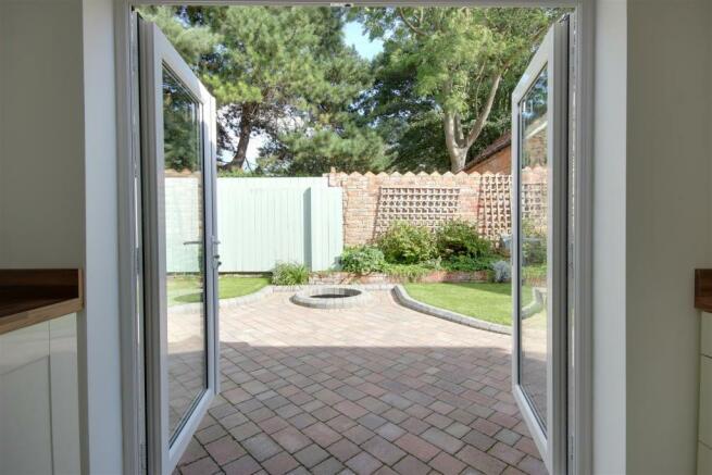 Doors Out To Rear Garden