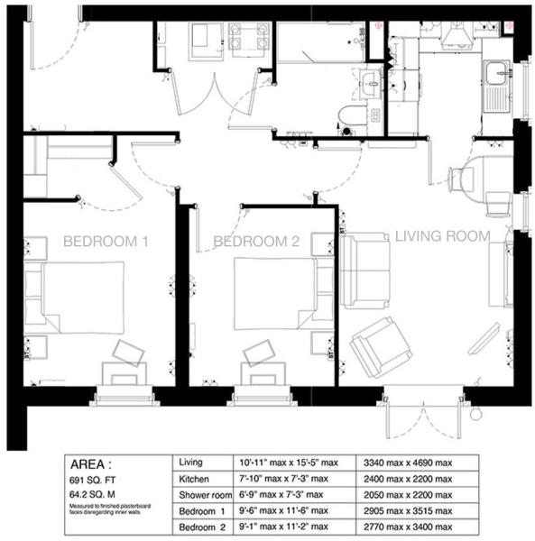 NE-2147-04-AC-410 Proposed Sales Layout - Apartmen