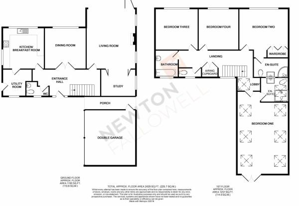Church Lane, Greetham - Floorplan