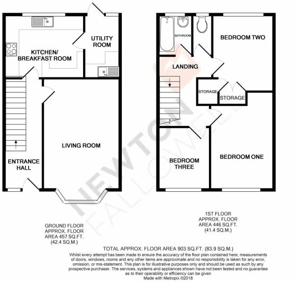 Deweys Close, North Luffenham - Floorplan