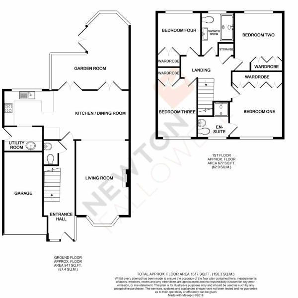 Hardwick Close, Oakham - Floorplan