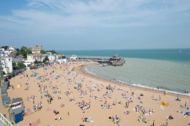 Beach at Broadstairs