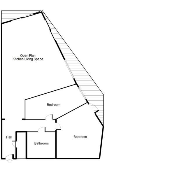 Floor Plan 5th Floor South West Facing